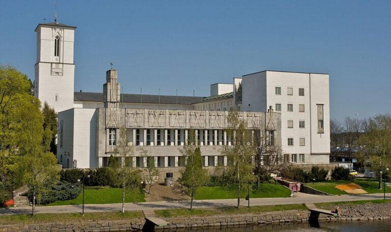 Bærum rådhus Foto: Kjetil Ree Wikipedia