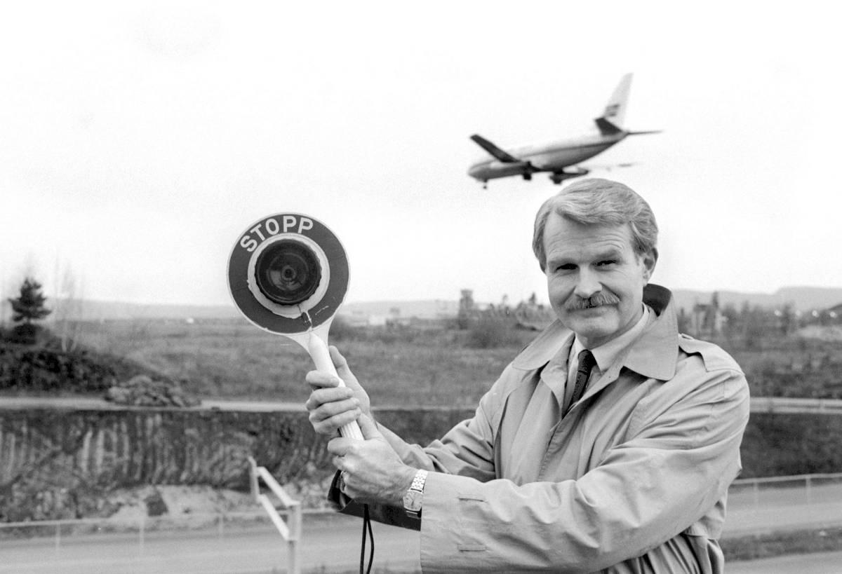 Allerede i 1986 sa B. Christian Jenssen stopp til videre utbygging av Fornebu.