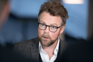 Arbeids- og sosialminister Torbjørn Røe Isaksen (Høyre)