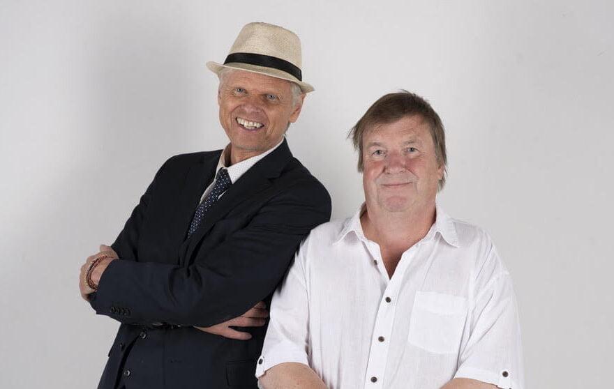 John John Bruseth og Henning Johan Mørk Foto: RefleXon/Antara